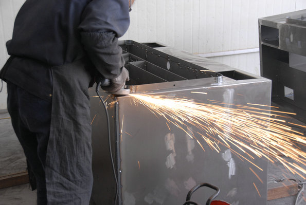 机械shou焊接机